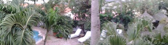 Paradera Park Aruba : The view from one of the upper rooms