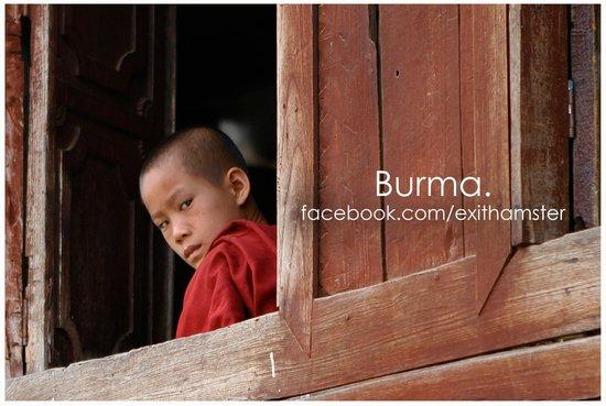 Shwe Yaunghwe Kyaung : A short study break.