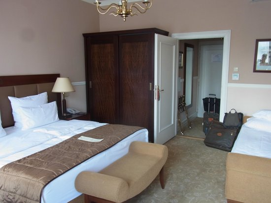 Hotel Esplanade Prague: Room
