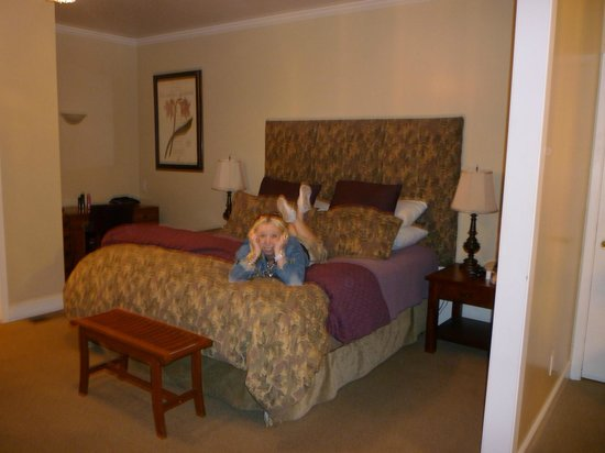 The Rigdon House: The very comfy bed
