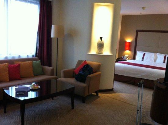 Holiday Inn Jasmine Suzhou Hotel: Living room area