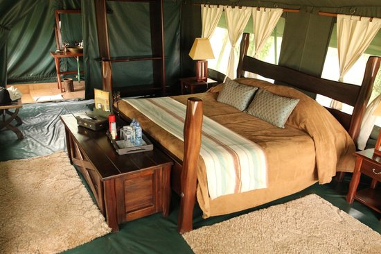 Entim Camp: Inside your Tent