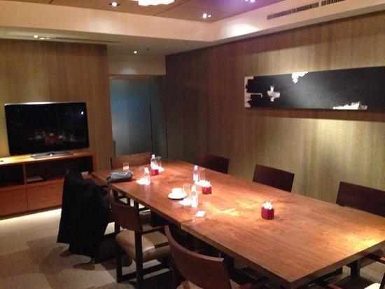 Grand Hyatt Tokyo: meeting room@Grand Club Lounge