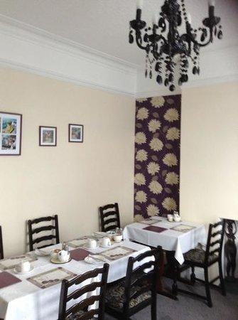 Brynhyfryd: The dinning room