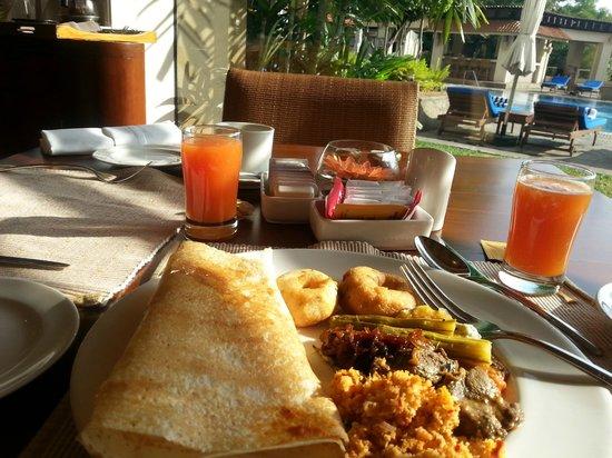 Taj Samudra Colombo: Latitude restaurant, wonderful food
