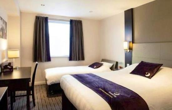 Premier Inn Belfast City Centre (Alfred Street) Hotel: Our bedroom