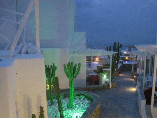 Damianos Hotel: La iluminación es hermosa