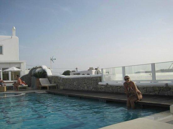 Damianos Hotel: La pile!