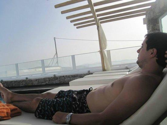 Damianos Hotel: Relax en la pileta