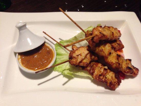 Chaophraya and Palm Sugar Lounge - Leeds: Chicken satay