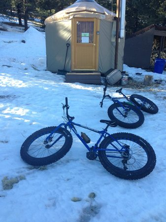 Flagstaff Nordic Center: most remote yurt