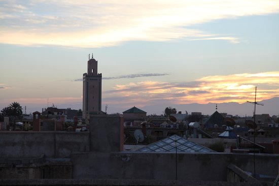 Riad Les Trois Palmiers El Bacha : vue from the top terrace