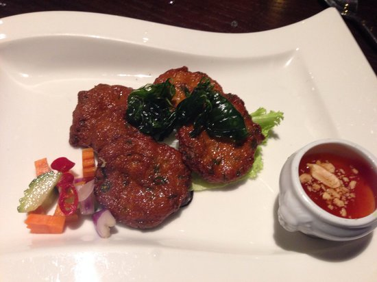 Chaophraya and Palm Sugar Lounge - Leeds: Fish cakes