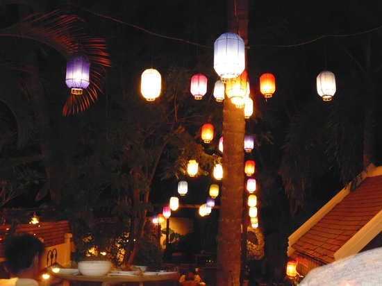 Coconut Garden : lanterns