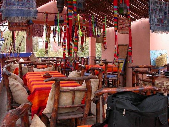 La Perle de l'Ourika : patio