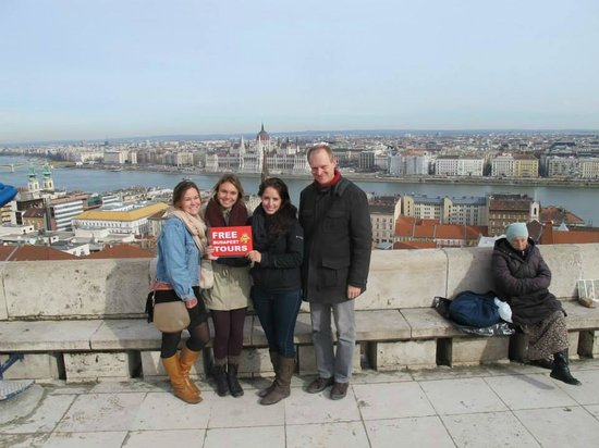 Free Budapest Tours & Multilingual Guides: View of Budapest
