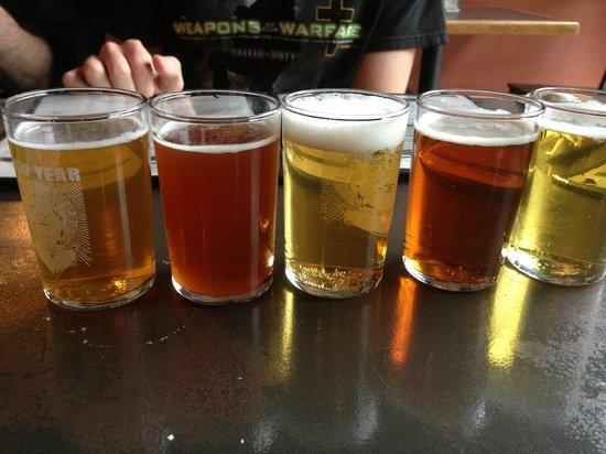 Der Blokken Brewery: Alternative Flight of your choice