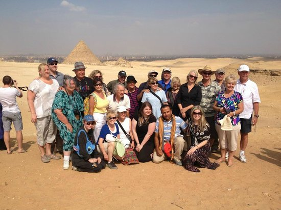 Ramasside Tours: Happy group