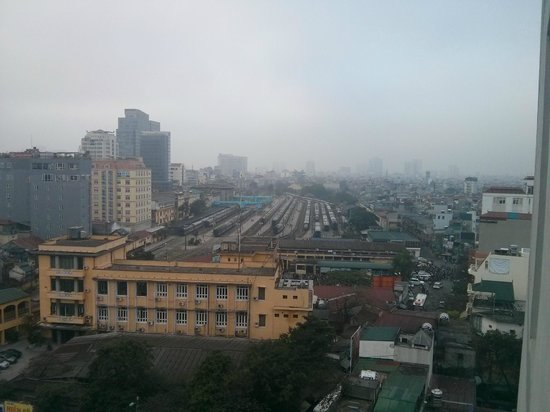 Hanoi Larosa Hotel : Day view from hotel room