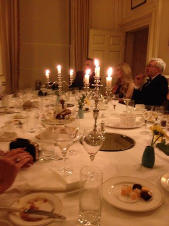 Middlethorpe Hall & Spa : Lovely private dining room
