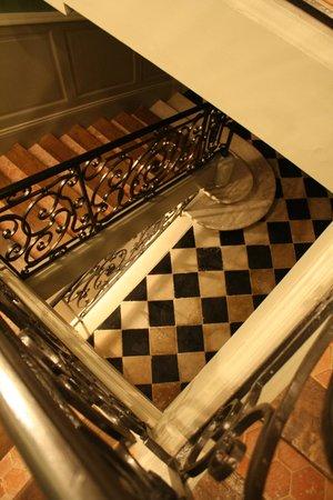 Les Tilleuls 1738 : Escalier