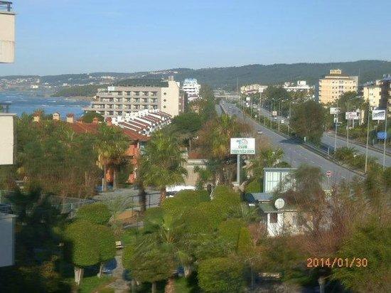 Alaiye Resort & Spa Hotel: View from balcony
