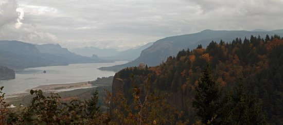 Columbia River Gorge National Scenic Area: View from Portland Women's Forum viewpoint