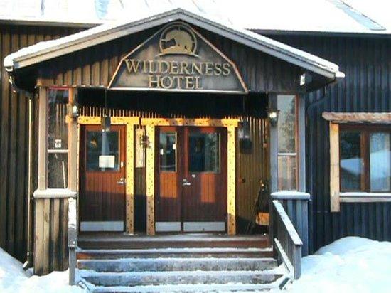 Nellim Wilderness Hotel : Hotel entrance