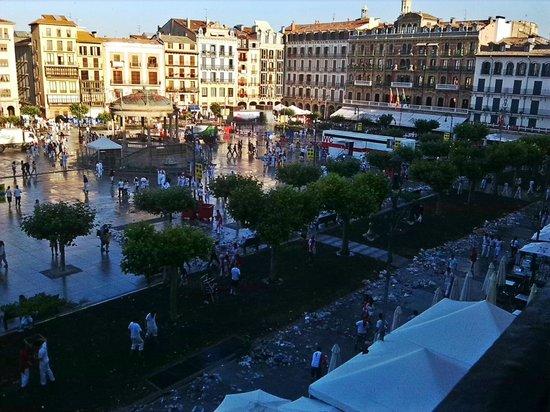 Erreka Incoming Navarra: Plaza del Castillo