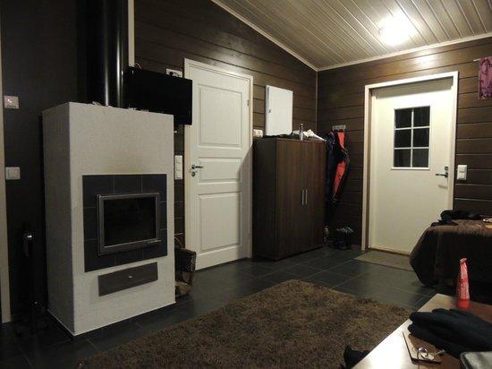 Nellim Wilderness Hotel : Inside cabin Nuora