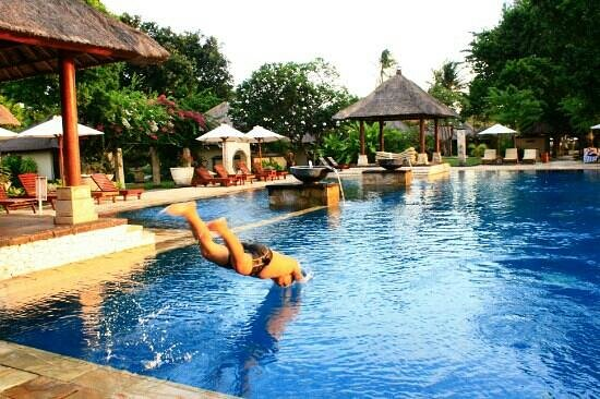 Patra Jasa Bali Resort & Villas: View swiming pool