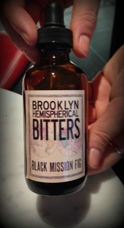 The Modern: Local Brooklyn Bitters. Do try if you can find this one.