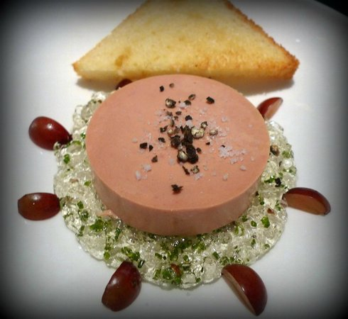 The Modern: Foie Gras Terrine with muscat gelée and toasted brioche