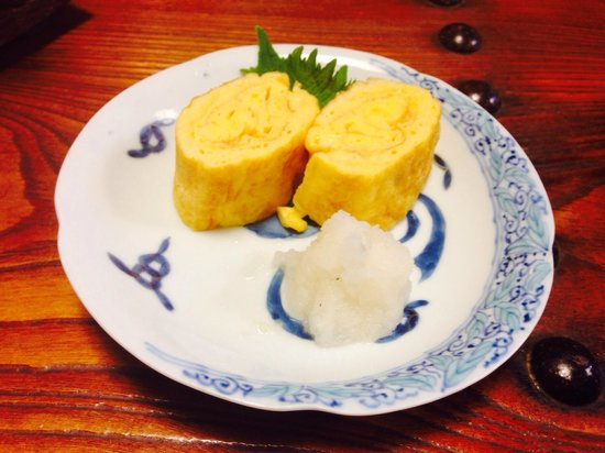 Umanojo : 産みたての卵の甘い卵焼き