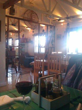 Restaurant Cafe Cangrejo Rojo : Sala
