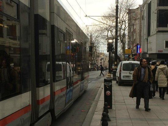 Nena Hotel: nearby view (tramway)