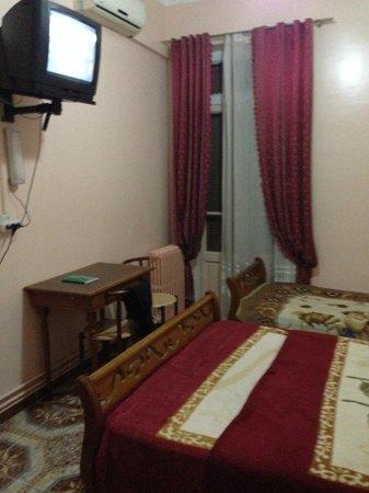 Hotel Samir: Vista camera