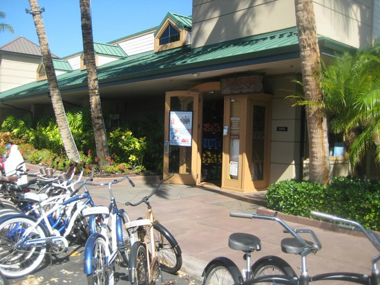 Big Island Motorcycle Company: outside view if store front