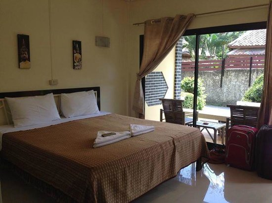 Samui Beach Resort: La chambre