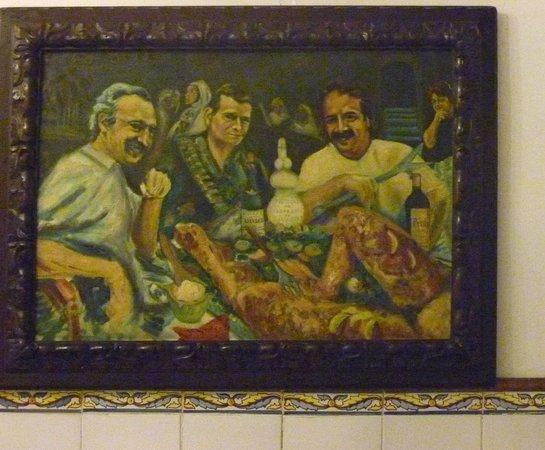 Bodego de la Sarieta: il curioso quadro