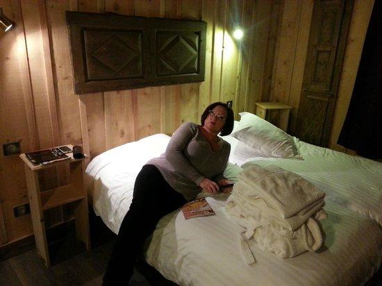 Le Velleda Hotel Restaurant : Vue de la chambre