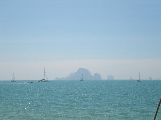 Krabi Resort : острова напротив