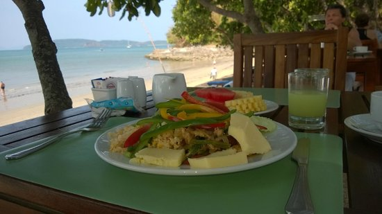 Krabi Resort: завтрак