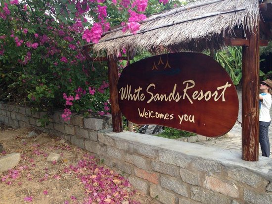 White Sands Resort: 入口