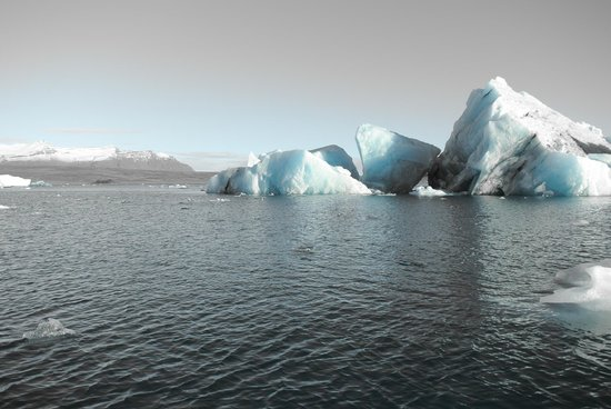 Gletscherlagune Jökulsárlón: the most beautiful place