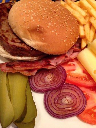 Leo's Hamburgeria: Hamburger di Angus