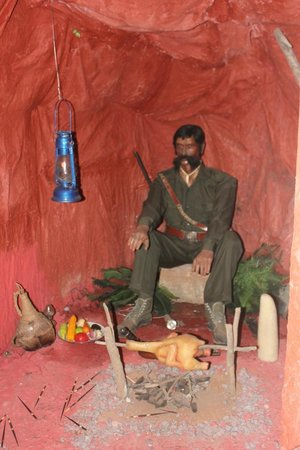 Wax World Museum: Veerapan and Chicken