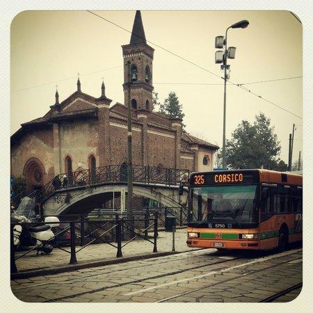 Chiesa di San Cristoforo sul Naviglio : San Cristoforo