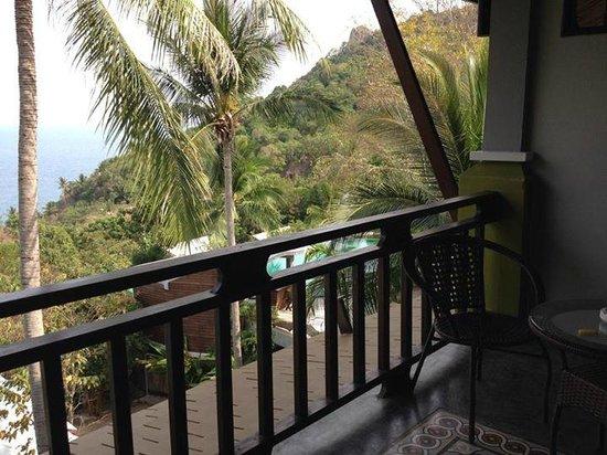 Tanote Villa Hill: Vue de la chambre