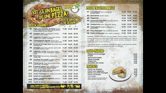 Python Pizza Menu